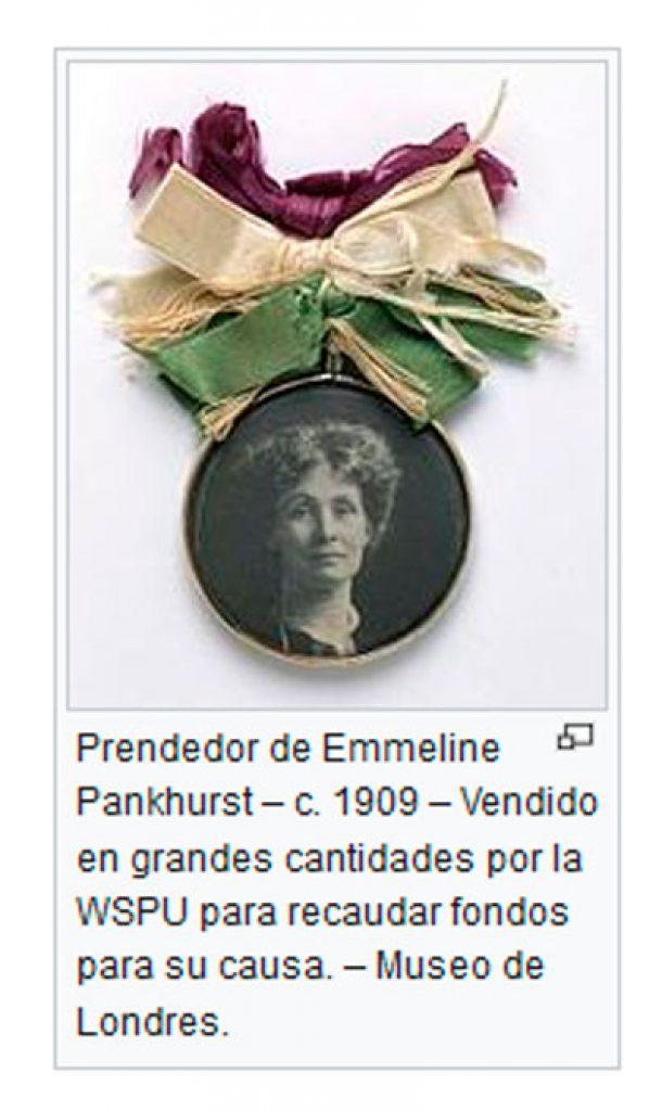 Emmeline-Pankhurst-simbolo-tricolor-feminista