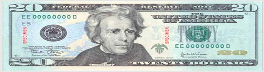 Andrew-Jackson-billete-20-dolares