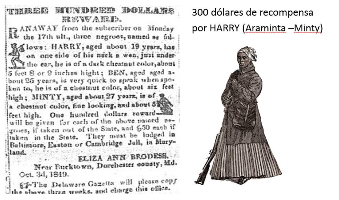 hurriet-tubman-recompensa-araminta-minty