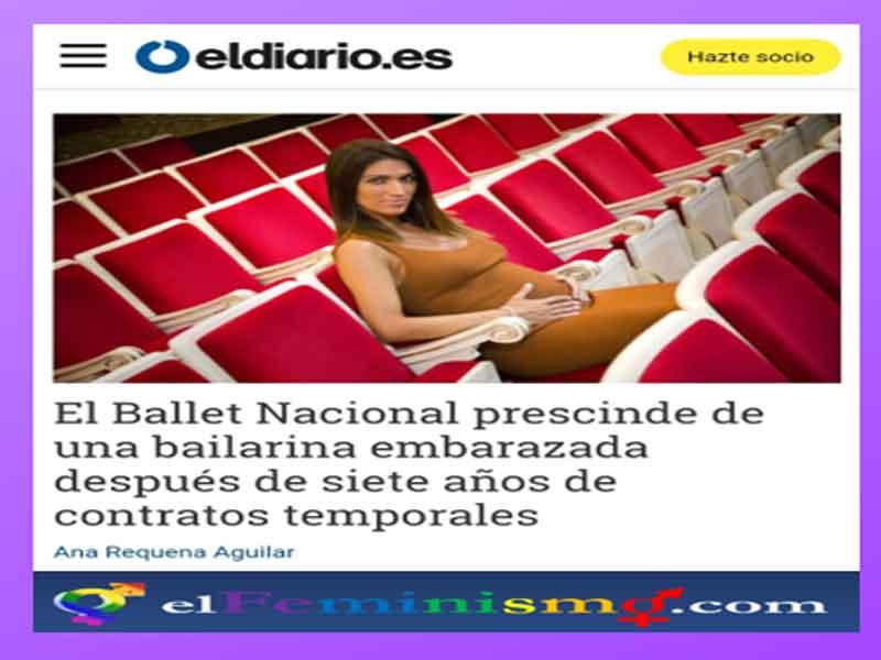 mujer-despedida-por-estar-embarazada-del-ballet-nacional