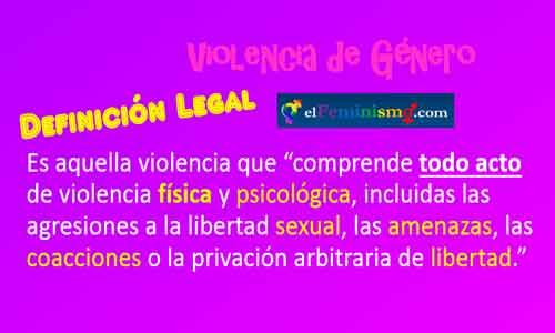 definicion-legal-de-violencia-de-genero