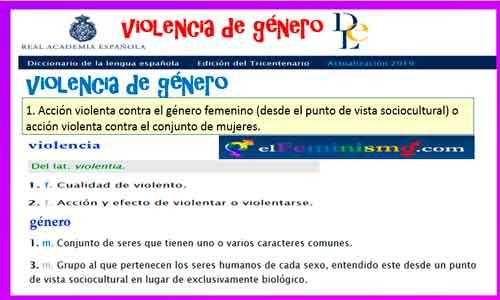 rae-definicion-de-violencia-de-genero