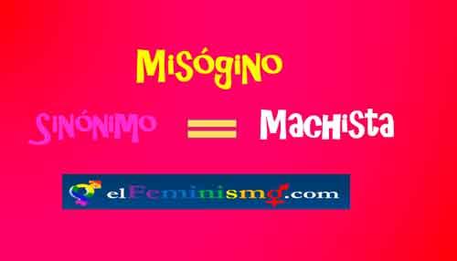 misogino-sinonimo