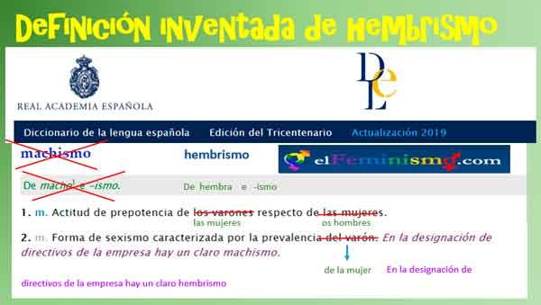 rae-definicion-hembrismo-diccionario-real-academia-de-la-lengua