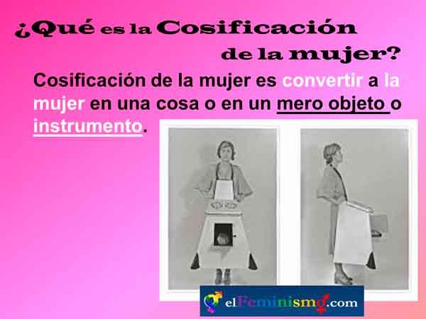 cosificacion-de-la-mujer-definicion