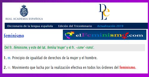 rae-definicion-feminismo-diccionario-real-academia-de-la-lengua