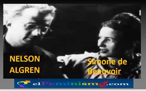 NELSON-ALGREN-Y-SIMONE-DE-BEUVOIR