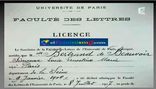 certificado-de-notas-de-simone-de-beauvoir