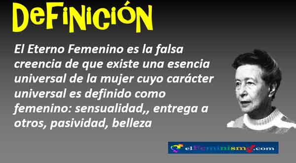 definicion-de-eterno-femenino-de-simone-de-beauvoir