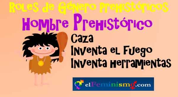 roles-de-genero-del-hombre-prehistorico